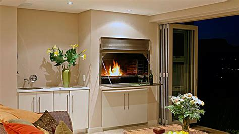 two bedroom home plans braai room lacquered supawood innovative joinery