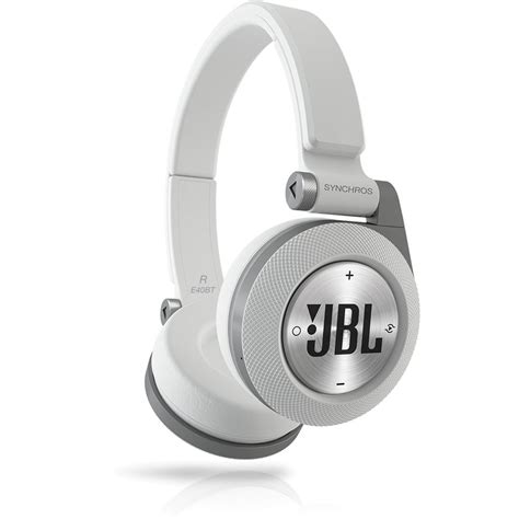 jbl e40 bt headphone jbl synchros e40bt bluetooth on ear headphones white