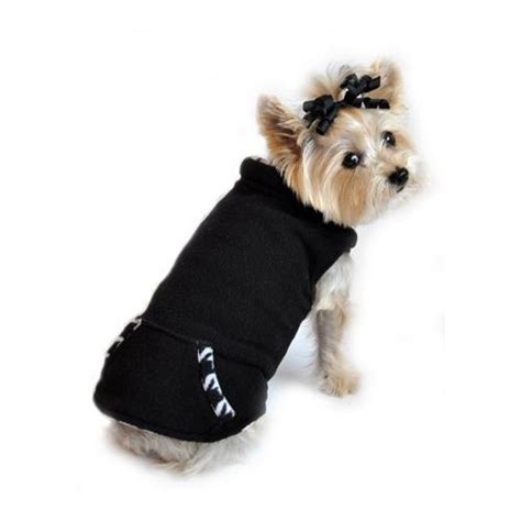 hundepullover houndstooth fleece puppy prince