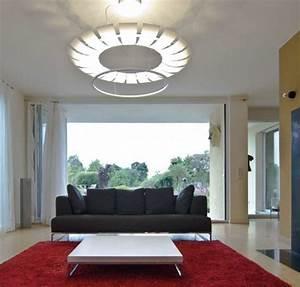 Led Indirektes Licht : deckenleuchten im wohnzimmer highlights im modernen stil ~ Sanjose-hotels-ca.com Haus und Dekorationen