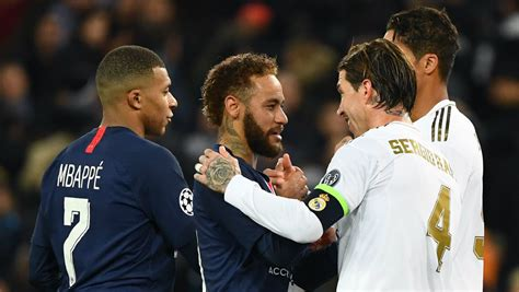 PSG prioritising Mbappe & Neymar extensions amid Ramos ...