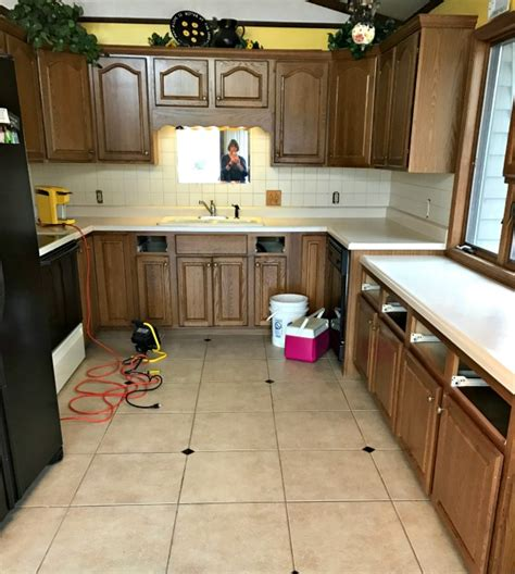Easy Kitchen Cabinets easy painting project for your kitchen cabinets