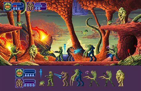 Artstation Halo Pixel Art Rodney Amirebrahimi
