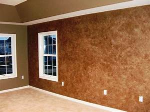 faux wall painting ideas With wall paint glaze ideas
