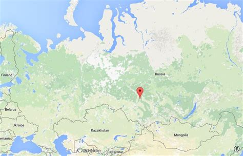 tomsk  map russia