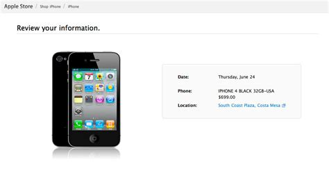 iphone pre order the process of pre ordering iphone 4 37prime