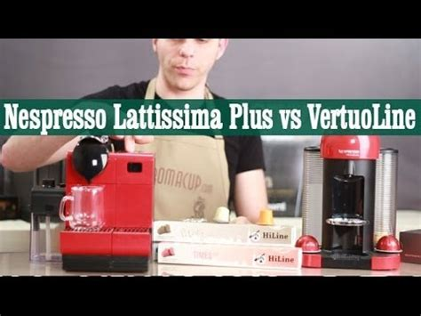 nespresso vertuoline machine comparison nespresso lattissima plus vs nespresso vertuoline review