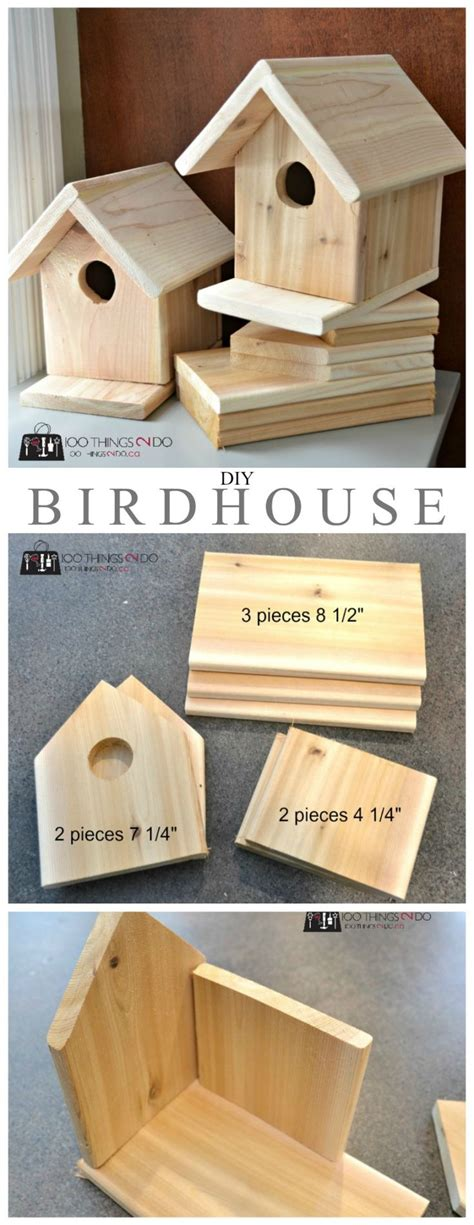 bird house plans ideas  pinterest diy