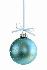 Blue Christmas Ornament Photograph by Elena Elisseeva