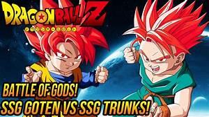 DragonBall Z: Super Saiyan God Goten VS Super Saiyan Go ...