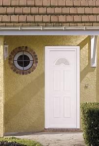 porte d39entree pvc grosfillex classique sur marignane With porte de garage et porte classique