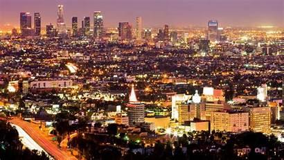 Angeles Los Buildings Disaster Fi Downtown Ciudad