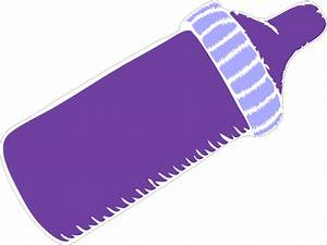 Purple Baby Bottle Clip Art at Clker.com - vector clip art ...