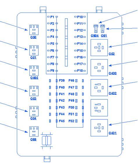 mercury 2000 fuse box block circuit breaker diagram