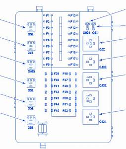 Mercury Cougar 2000 Fuse Box  Block Circuit Breaker Diagram