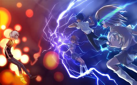 Accelerator Anime Wallpaper - touma kamijou accelerator misaka imouto to aru