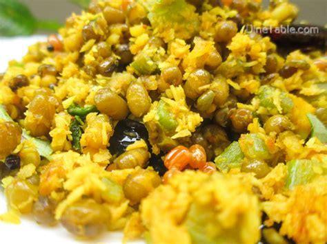 Chenathandu Cherupayar Thoran Recipe