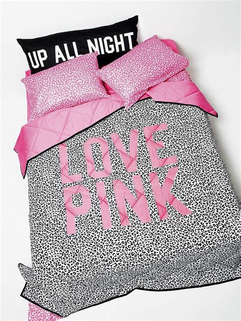 reversible comforter pink victoria s secret all the