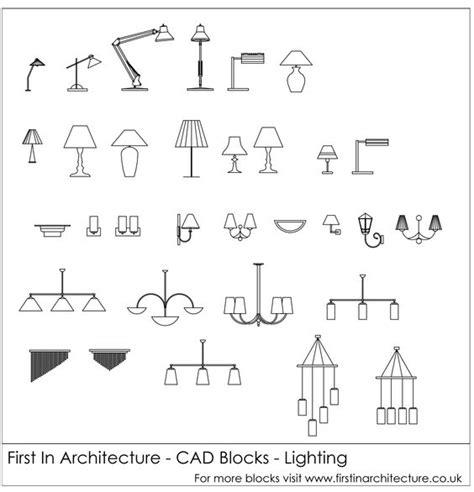 free cad blocks lighting in architecture f
