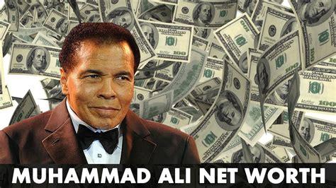 muhammad ali net worth   salary income