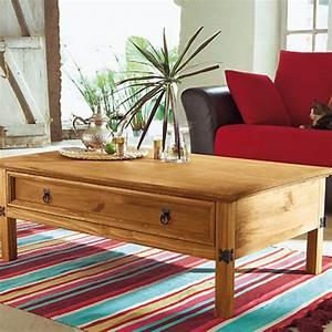 Table Basse Rectangulaire 114 X 70 Cm El Patio Frais De