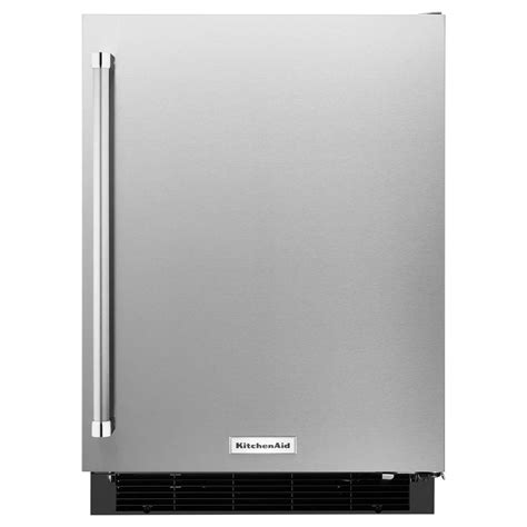 Kitchenaid 24 In W 49 Cu Ft Undercounter Refrigerator