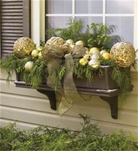 CHRISTMAS Window Boxes on Pinterest