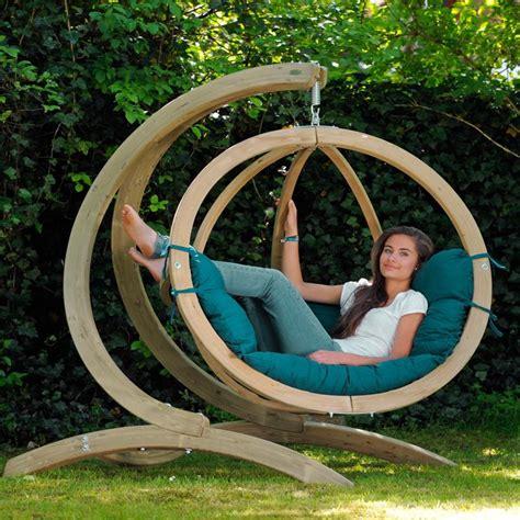 siege en oeuf fauteuil suspendu globo chair coloris green amazonas