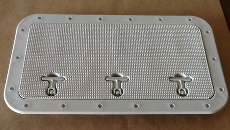 Boat Deck Access Hatches by Viking Kayak Utility Hatches Rectangular