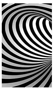 Swirl Loop Wallpaper   Wall Decor   Optical illusion ...