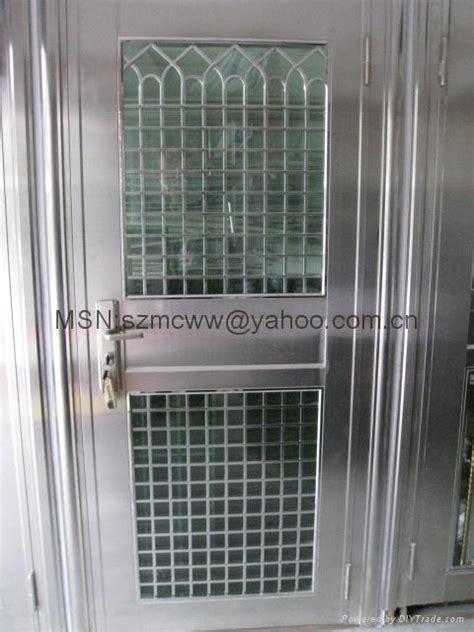 stainless steel burglar proof door china manufacturer