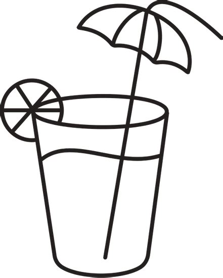 Coloring Juice by Cup Of Juice Colouring Pages Sketch Coloring Page