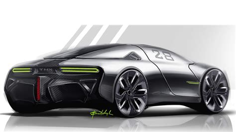 Thx Sports Car Concept Looks Intriguing  Drivers Magazine
