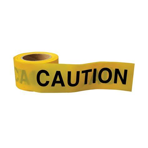 yellow black caution tape