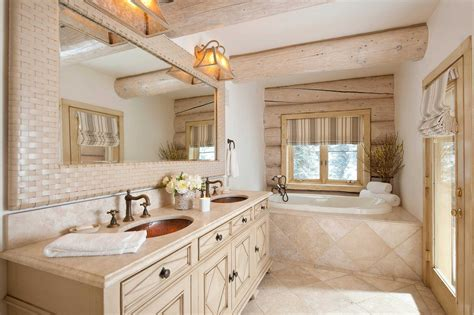 16 fantastic rustic bathroom designs that will take your
