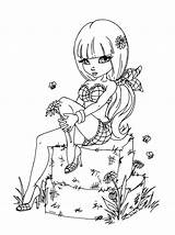 Coloring Pages Deviantart Haystack Jadedragonne Kinky Adult Fairy Printable Books Jade Dragonne Print Colouring Cute Designlooter Drawings Drawing Line Sketches sketch template