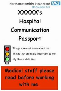 Passport Template For Students Communication Passport From Northamptonshire Healthcare