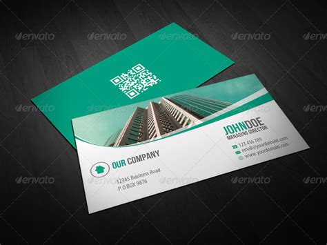 corporate trading business card design  themeboo