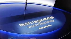 Panasonic unveils world's largest 4K OLED TV - Monitors ...