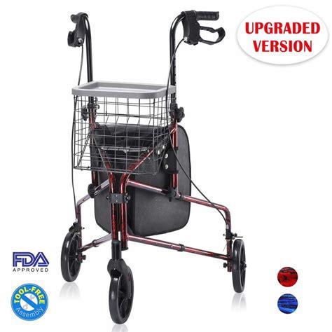 wheel rollator walkers seniors line walker health reviewed favorite wheelchair experts india folding