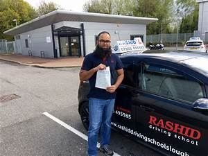Asad Ali Passed His Manual Car Test With Rashid At