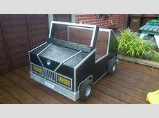 How To Build Your Own Children's Garden Car Storage Box