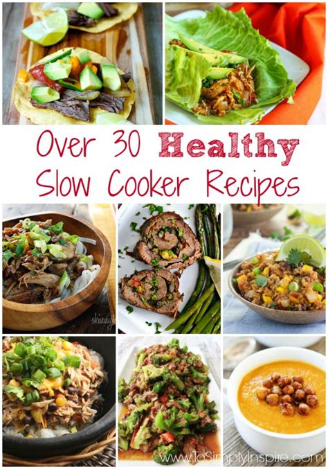 cooker healthy recipes healthy slow cooker recipes