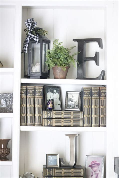 Decorating With Bookcases by Well Styled Bookcases Charming Fall Home Tour