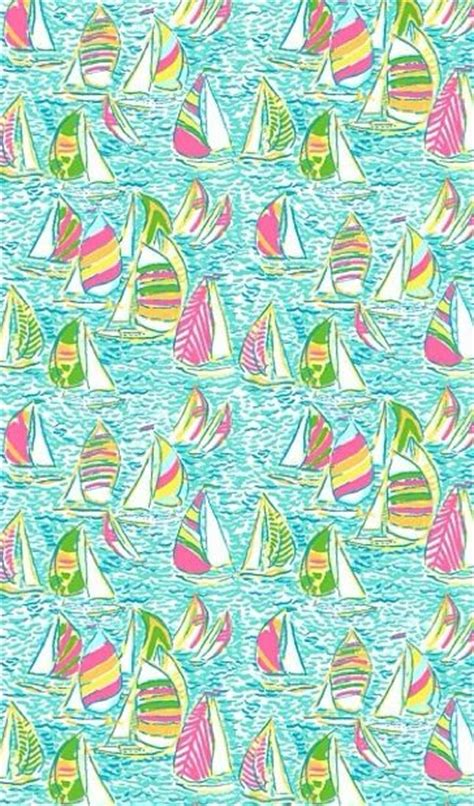 Lilly Pulitzer Boat by Lilly Pulitzer Iphone Wallpaper Other