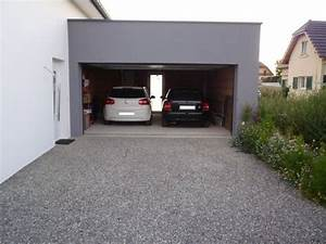comment mettre en place une allee de gravillons dans son With allee de garage en cailloux