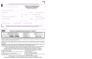 printable ca dmv title transfer forms  templates