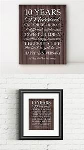 1000 ideas about 10th anniversary gifts on pinterest With 10 year wedding gift