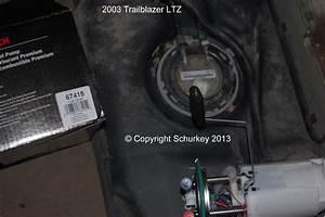 Fuel Pump Ring Locking Tab Chevy Trailblazer Ss 2003 Gmc
