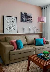Regal Hinter Sofa : wohnzimmergestaltung ideen moderne beispiele und wohnzimmer bilder ~ Frokenaadalensverden.com Haus und Dekorationen